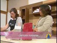Carteira Feminina em Cartonagem - Heloísa Gimenes, Sem Igual / Sabor de ...