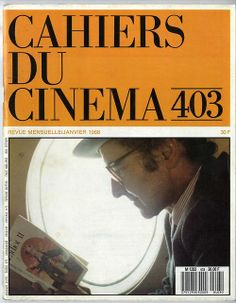 Jean-Luc Godard on the cover of Cahiers du Cinema, Francois Truffaut, Jean Luc Godard, Monologues, Nostalgia, Old Things, Graphic Design, Melville, Film, Music