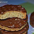 Des biscuits délicieux qui se rapprochent des