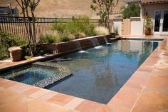 Having a pool sounds awesome especially if you are working with the best backyard pool landscaping ideas there is. How you design a proper backyard with a pool matters. Backyard Pool Landscaping, Small Backyard Pools, Backyard Pool Designs, Small Pools, Swimming Pools Backyard, Swimming Pool Designs, Outdoor Pool, Lap Pools, Indoor Pools