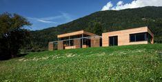 pedit & partner architekten Partner, Exterior, Cabin, House Styles, Home Decor, Patio, Wood Facade, Solar Shades, Architects