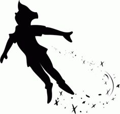 how to draw peter pan silhouette step 6