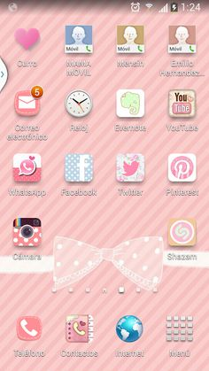 Cocoppa Wallpaper, Pink Wallpaper Iphone, Cute Home Screens, Tattoo Ink Colors, Fusion Ink, Cute Themes, Iphone Icon, Evernote, Siri