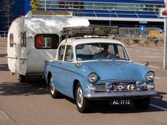Vintage Classics Car | Classic and Vintage Cars - Hillman Minx with caravan