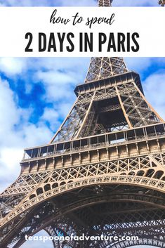 If your time in the City of Lights is limited, you can still make the most of it. Here's your perfect itinerary for 2 days in Paris! European Destination, European Travel, European Vacation, Bordeaux, North America Destinations, Paris Travel, Travel Europe, Europe Packing, Travel Abroad