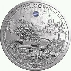 Cameroon 2012 1000 Francs Unicorn Opal Gemstone Unicorn Series Proof Silver Coin :: Top World Coins Unicorn And Fairies, Hobo Nickel, Coin Art, Gold And Silver Coins, Proof Coins, Gold Bullion, World Coins, Rare Coins, Coin Collecting