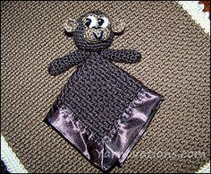 MonkeyMonkey Lovey Security Blanket - $4.99 by Yarn Twinslovey_small2