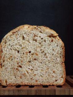 Chleb ze smażoną cebulką Calzone, Pizza, Graham, Bread, Baking, Food, Beautiful, Bakken, Eten