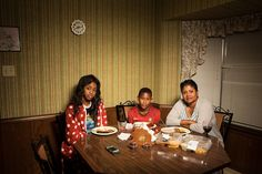 """Weeknight Dinners"" by Photographer Lois Bielefeld - BOOOOOOOM! - CREATE * INSPIRE * COMMUNITY * ART * DESIGN * MUSIC * FILM * PHOTO * PROJECTS"