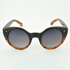 Kaydee Sunglasses $6 || The fun vintage shape is accented by round lenses that offer 100% UV protection.