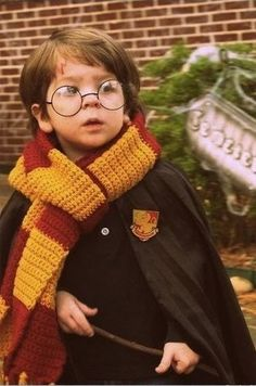 Whenever I have a kid. he will be Harry Potter for Halloween. He will LOVE Harry Potter.