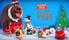 Video: Holiday Greetings From THE SECRET LIFE OF PETS