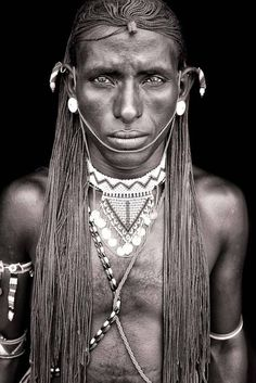 German documentary photographer and photojournalist Mario Gerth traveled through Africa to capture intimate portraits of african nomads. His photographs are a beautiful tribute to the continent, its diversity and naturalness that is, according to him, missing in the western uniform and ordered society.