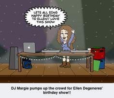 Happy birthday Ellen Degeneres