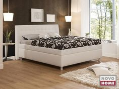 Gala ágy 4-es fejvéggel NTLO 1-es textilbőrrel