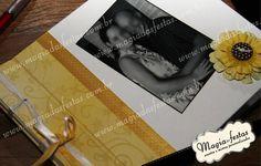 Livro de assinaturas | Magia das Festas | 26B66A - Elo7 Confeccionado com a técnica de scrapbook no tamanho 20x20, possui 30 folhas internas com gramatura de 180 grs