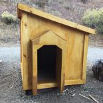 Large Dog House - Step by step Plans | HowToSpecialist - How to Build, Step by Step DIY Plans Double Dog House, Large Dog House Plans, Extra Large Dog House, Large Dogs, Pallet Dog House, Build A Dog House, Octagon Picnic Table, Outdoor Shelters, Outdoor Dog