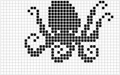 Ideas Knitting Charts Fish Fair Isles For 2019 Filet Crochet Charts, Crochet Cross, Knitting Charts, Baby Knitting Patterns, Knitting Stitches, Loom Patterns, Free Knitting, C2c, Fish Chart