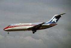 https://flic.kr/p/atNASW | Texas International Airlines, McDonnell Douglas DC-9-14 | McDonnell Douglas DC-9-14 Texas International Airlines LAX Sept., 1976