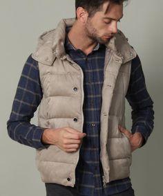 グレイッシュベージュ Vest, Jackets, Shopping, Fashion, Down Jackets, Moda, Fashion Styles, Fashion Illustrations, Jacket