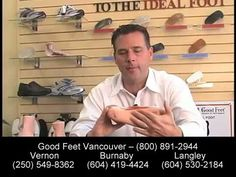 Do Arch Supports Work? Foot Pain Heel Back Hip Knee Pain Plantar Fasciitis - Good Feet Vancouver - YouTube