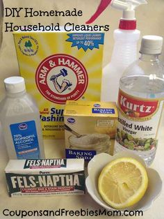 DIY homemade household cleaners do not have to be complicated or time consuming. In fact chances are, you probably already have a great deal of the ingredients in your pantry at home. If making your own cleaners interests you, take a peek below at how easy it is to get started, what you will need, and what you can concoct! You just may be surprised!