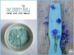Mléčná barva GALWAY BAY světle modrýodstín od The Crafty Bird Milk Paint.