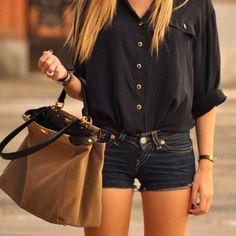 Shirts Shorts Handbag Luv!!
