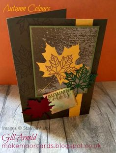 Make Moor Cards: Autumn colours