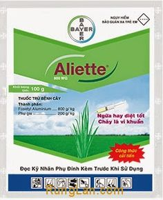 Thuốc trừ nấm bệnh Aliette