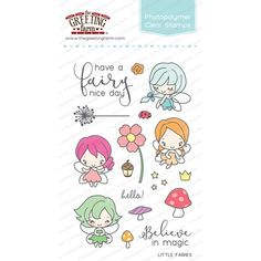 The Greeting Farm LITTLE FAIRIES Clear Stamps TGF254 at Simon Says STAMP!