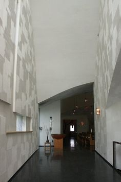 Chapel of St. Ignatius, Processional way to baptistry