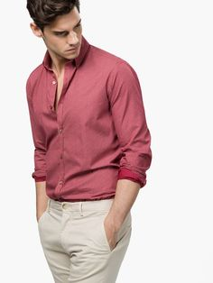 Discover men's shirts for Spring/Summer Find knit, denim, linen, printed or casual shirts for men at Massimo Dutti; Formal Dresses For Men, Formal Men Outfit, Formal Shirts For Men, Outfits Casual, Stylish Mens Outfits, Mode Outfits, Casual Dresses Men, Business Casual Men, Men Casual