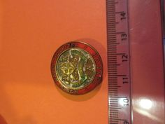 North Wales Hospital brass nurses badge; nursing / hospital badge