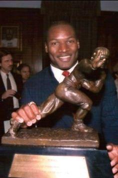 Bo Jackson. 1985 Heisman Trophy Winner.