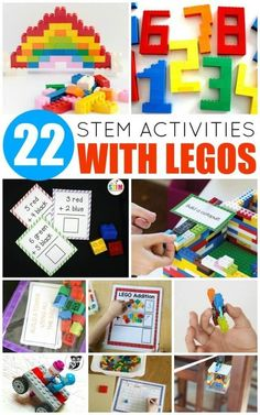 Your LEGO-loving kids will adore these LEGO STEM activities! Learn science, tech… Your LEGO-loving kids will adore these LEGO STEM activities! Learn science, technology, engineering, and math with the help of LEGO! Lego Activities, Steam Activities, Educational Activities, Lego Games, 5 Year Old Activities, Earth Science Activities, Science Ideas, Indoor Activities, Summer Activities