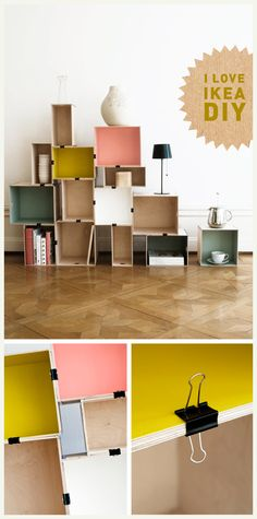 ikea - http://frydogdesign.blogspot.it/2012/02/color-blocking.html