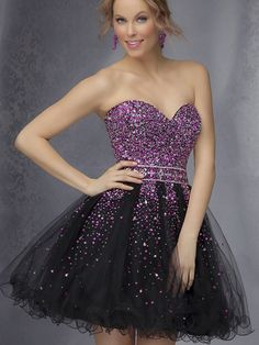 2014 Style A-line Sweetheart Rhinestone Homecoming Dresses/Cocktail Dresses #GC528