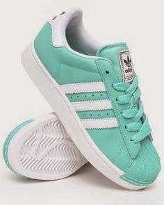 Turquoise Women's Adidas Sambas - love these shoes! Gotta have 'em