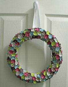 My Momenta: Flower Wreath Tutorial by Nicole