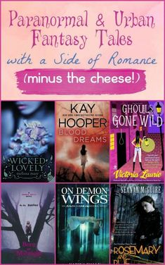 Need a good read? Check out a few awesome paranormal romances that aren't totally cheesy. These books capture your attention with great characters, amazing stories and a nice side of love that doesn't overpower the rest.