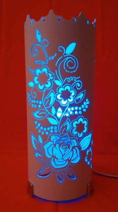 Art & Craft,How to Make Paper Rose Flower Pvc Pipe Crafts, Pvc Pipe Projects, Tube Pvc, Bamboo Lamp, Pipe Lighting, Paper Crafts Origami, Light Crafts, Pipe Lamp, Paper Roses