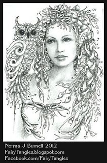 Minerva - goddess of poetry, medicine, wisdom, commerce, weaving, crafts, magic....a kindred spirit :)