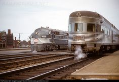 RailPictures.Net Photo: NYC 4032 New York Central EMD E7(A) at Rochester, New York by John Dziobko www.godfatherrails.com