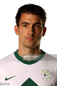 Branko Ilic of Slovenia poses poses during the official FIFA World Cup 2010 portrait session on June 9 2010 in Johannesburg South Africa