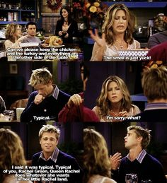 When Brad Pitt was on Friends. Just watched that last night.