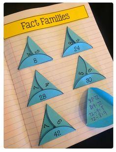 JOTTE: fact families
