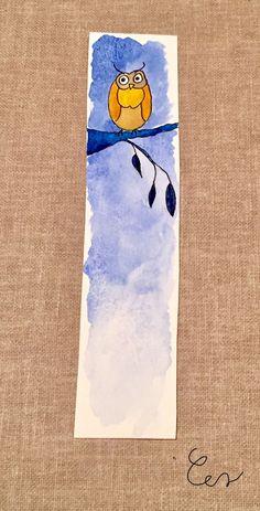 Watercolor Books, Watercolor Art Lessons, Watercolor Bookmarks, Watercolor Cards, Watercolor And Ink, Watercolor Paintings, Creative Bookmarks, Diy Bookmarks, Art Drawings Sketches