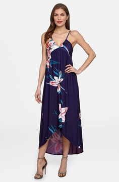 Catherine+Catherine+Malandrino+'Sheila'+Floral+Print+V-Neck+Sundress+available+at+#Nordstrom