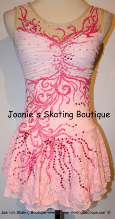 Joanie's Figure Skating Boutique of Newfoundland, Canada-Figure Skating Dresses, Custom Skating Dress, Skating Skirts, Skating Apparel. Dance. Baton. Leotard. http://www.joanies-skatingboutique.com